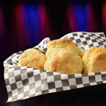 A Basket of Our Signature Buttermilk Biscuits
