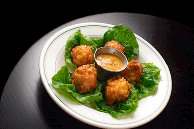 Corn & Shrimp Fritters